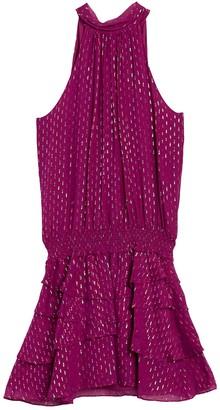 Ramy Brook Christina Mock Neck Dress