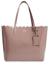Kate Spade 'Lily Avenue Patent - Carrigan' Leather Tote - Black
