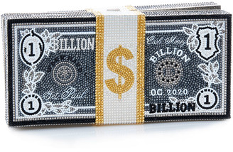 Judith Leiber Stack Of Cash Billions Clutch Bag
