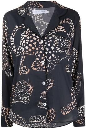 Desmond & Dempsey The Jaguar long pyjama set