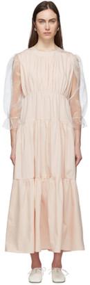 Le Petit Trou Pink Felines Dress