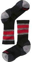 Smartwool Boys' Striped Hike Medium Crew socks