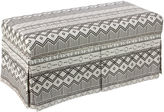 Skyline Furniture Hayworth Storage Bench, Kuba Ink