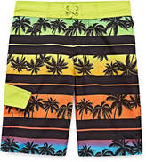 Arizona Tropical Print Swim Trunk - Boys 4-20 & Husky