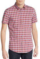 Ben Sherman Slim-Fit Plaid Oxford Sportshirt