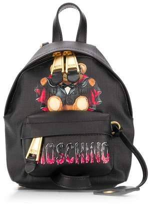 Moschino Bat Teddy Bear backpack
