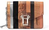 Proenza Schouler Textured-Leather Clutch