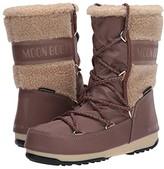Moon Boot r) Monaco Wool Mid (Mud) Women's Boots