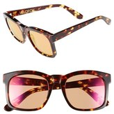 Wildfox Couture Women's 'Gaudy Deluxe' 55Mm Sunglasses - Tokyo Tortoise/ Pink Mirror