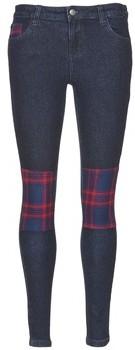 American Retro LOU women's Skinny Jeans in Blue