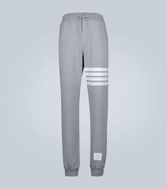 Thom Browne 4-Bar cotton trackpants