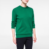 Paul Smith Women's Green Marl Cashmere Sweater