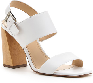 Botkier Farrah Leather Two-Band Slingback Sandals