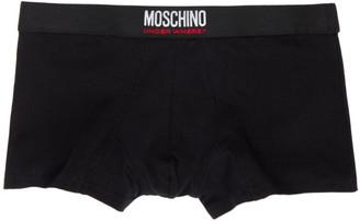 Moschino Black Logo Boxers