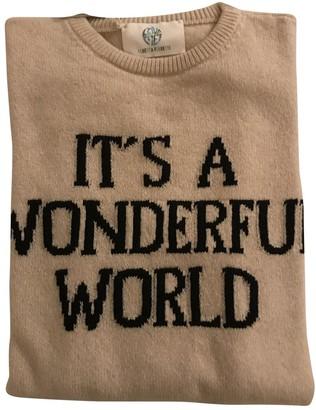 Alberta Ferretti Beige Cashmere Knitwear for Women