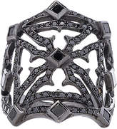 Loree Rodkin Queens Maltese Open Cross Ring