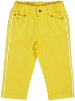 Petit Bateau 'Fjord' Pants (Baby) - Yellow-24 Months