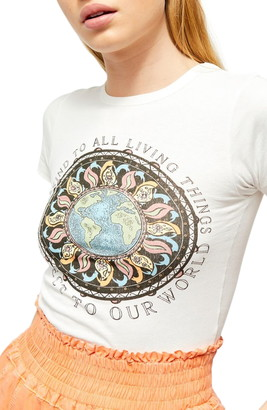 BDG Protect Our World Graphic Baby Tee