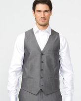 Le Château Tonal Wool Blend Contemporary Fit Vest