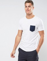 Tom Tailor T-shirt With Contrast Pocket