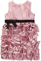 Milly Minis Rosette Dress (Toddler & Little Girls)