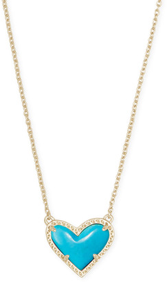 Kendra Scott Ari Heart Short Necklace