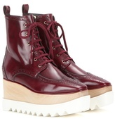 Stella McCartney Elyse Brogue Platform Boots