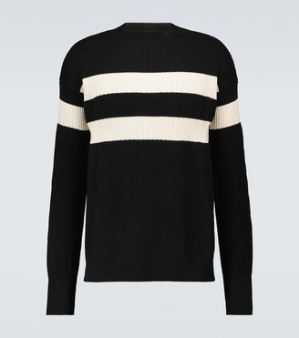 Marni Striped cotton sweater