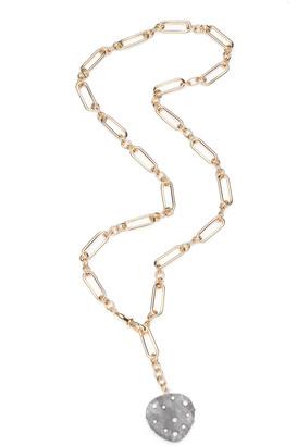 Dannijo Pluto Resin Y-Drop Necklace