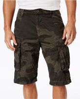 G Star Men's Rovic Camo-Print Cargo Shorts