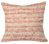 "DENY Designs Magical Holiday Wishes Throw Pillow Red (20"" x 20"