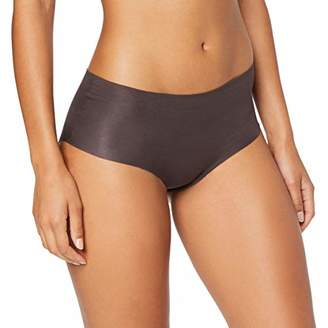 Hanro Women's Invisible Cotton-Maxi Slip Briefs,10-12(Manufacturer site:S)