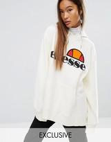 Ellesse Extreme Oversized Hoodie With Washed Logo
