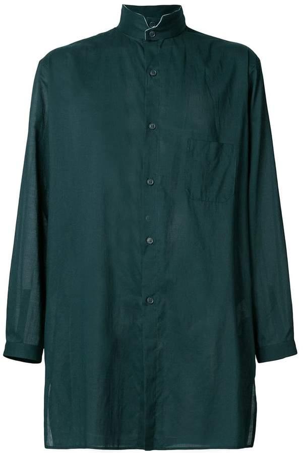 Yohji Yamamoto long fitted shirt