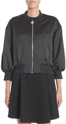 Carven Satin Bomber Jacket