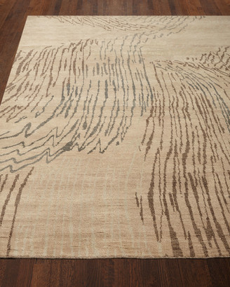 Josie Natori Shady Brook Rug, 6' x 9'