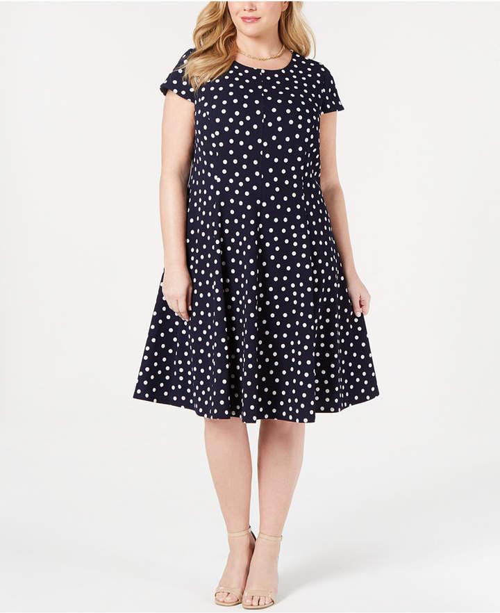 9b74320982c42 Plus Polka Dot Dresses - ShopStyle