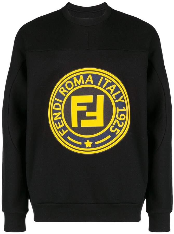 1bd44de88763 Fendi Black Men s Sweatshirts - ShopStyle