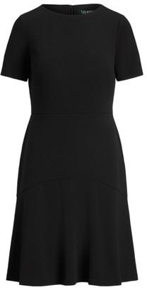 Ralph Lauren Jersey Fit-and-Flare Dress