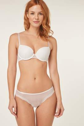 Next Womens White Emily Push-Up Balcony Bra - White
