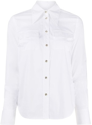 MICHAEL Michael Kors Pointed Collar Shirt