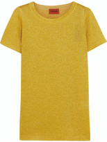 Missoni Metallic Knitted Top - Yellow