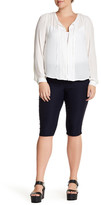 One 5 One Skinny Crop Pant (Plus Size)