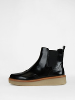 DKNY Kali Brogue Bootie With Rubber Sole