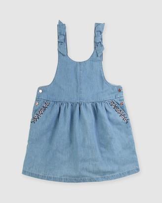 Carrément Beau Chambray Dress - Kids-Teens
