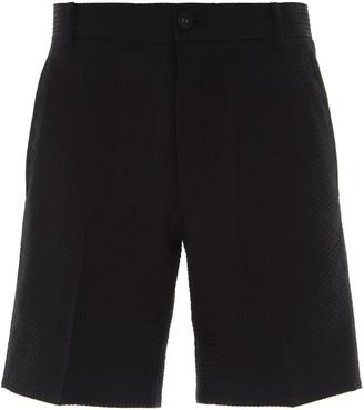 Thom Browne Tailored Engineered Wool Shorts