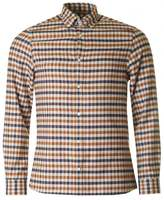 Aquascutum Mcgee Flannel Club Check Shirt