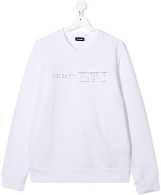 Diesel Metallic Code Sweatshirt
