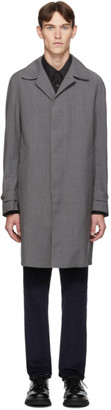 Ermenegildo Zegna Grey Wool TechMerino Wash and Go Coat