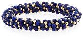 Meredith Frederick Lois 14K Gold & Lapis Bracelet